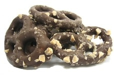 Chocolate Toffee-Covered Pretzels