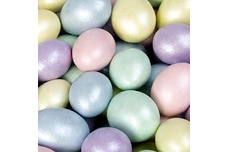 Chocolate Jordan Almonds (Pastel Sparkle)