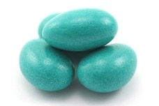 Jordan Almonds (Teal)
