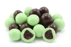 Chocolate Mint Cookie Bites