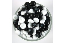 Black and White M&M's®