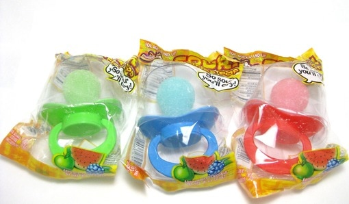 Sour Pacifier Pops