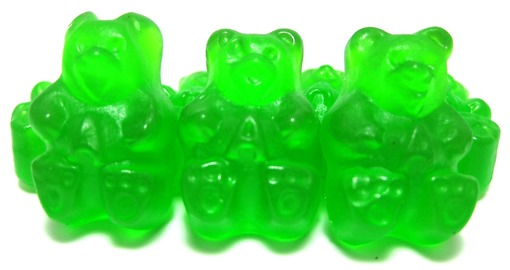 Green Apple Gummy Bears