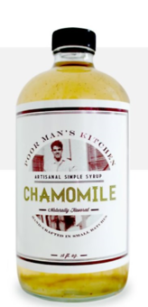 Chamomile Syrup
