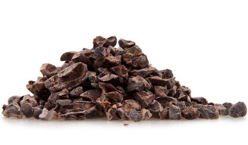 Raw cacao calories