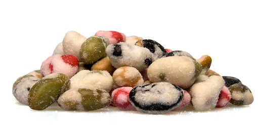Wasabi Beans Soy Beans Snacks Nuts