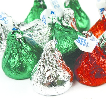 Christmas Hershey Kisses