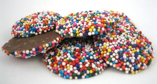 Milk Chocolate Nonpareils (Rainbow)