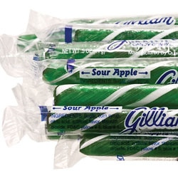 Sour Apple Candy Sticks