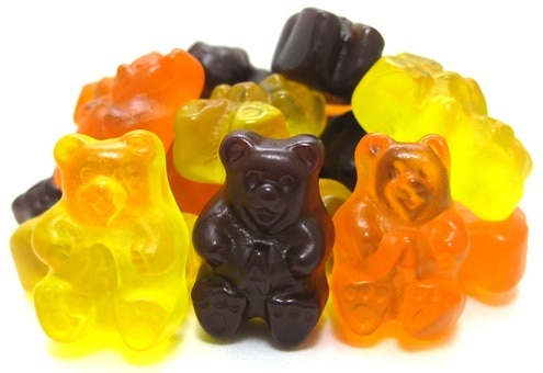 Fall Gummy Bears