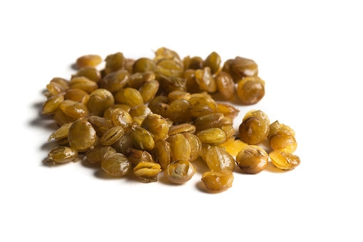 Popped Lentils With Salt