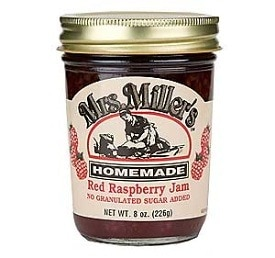Red Raspberry Jam (No Sugar Added)
