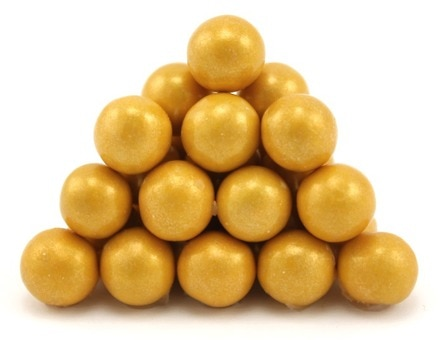 Gold Pearl Sixlets