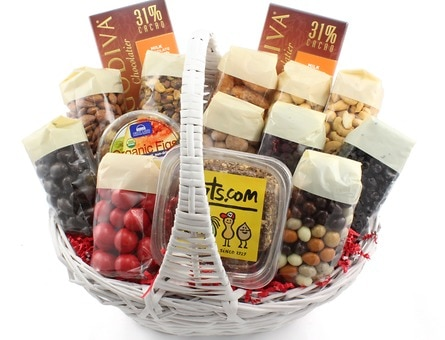 Golden gift basket gift baskets gifts nuts golden gift basket negle Image collections