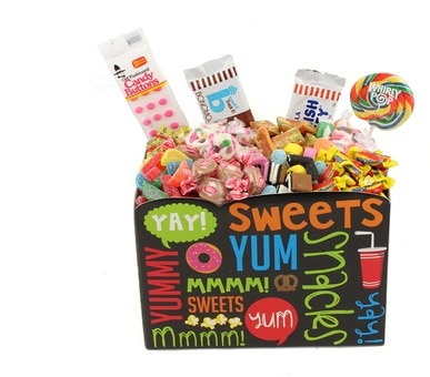 Old Fashioned Candy Basket