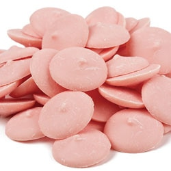 Pink Coating Chocolate Wafers