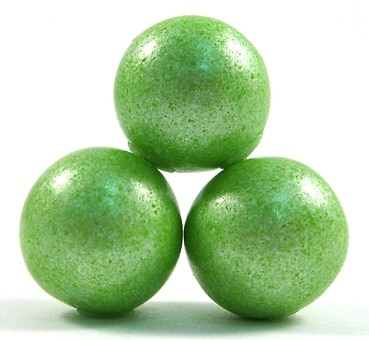 Light Green Shimmer Gum Balls