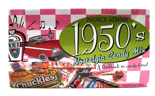 1950's Retro Candy Box