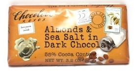 Chocolove Dark Chocolate Bar with Sea Salt and Almonds