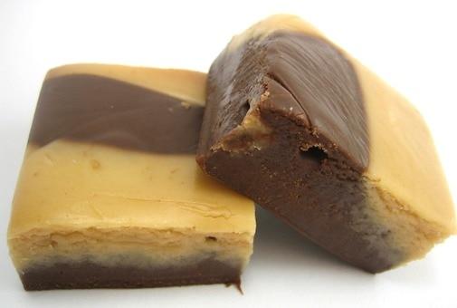 Chocolate Peanut Butter Fudge - Chocolates & Sweets - Nuts.com