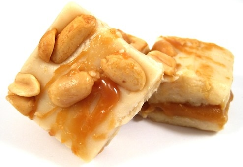 Salted Caramel Nut Fudge - Chocolates & Sweets - Nuts.com