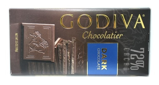 Godiva 72 % Dark Chocolate Bar