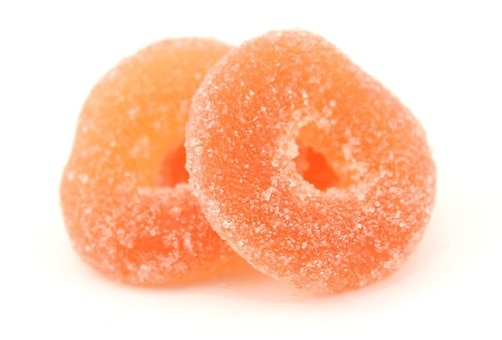 Organic Peach Rings (Vegan)