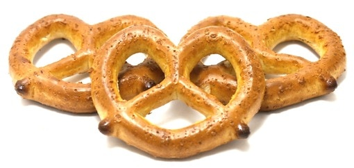 Dutch Pretzels (Unsalted)