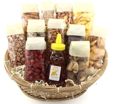 Apples and Honey Gift Basket