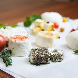 Artisanal Crumbly Goat Cheese & Creamy Chevre DIY Cheese Kit