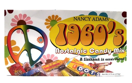 1960's Retro Candy Box