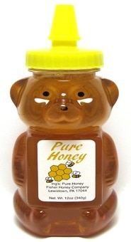 Fisher Clover Honey Bear