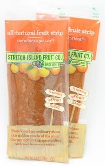 Natural Apricot Fruit Leather