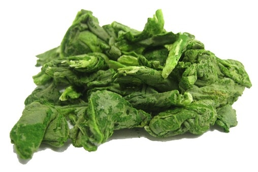 Freeze-Dried Spinach