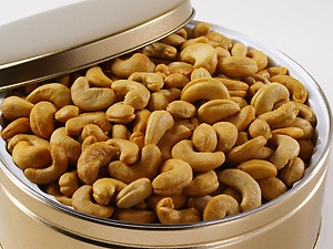 Jumbo Cashews Gift Tin (2 lbs.)