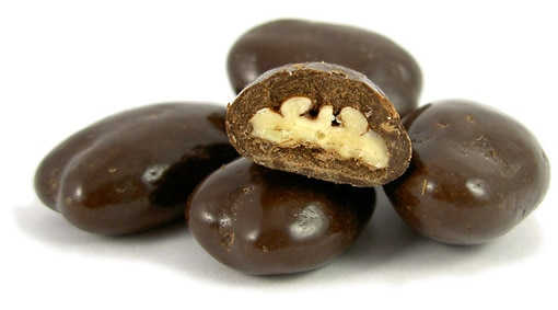 Dark Chocolate-Covered Walnuts