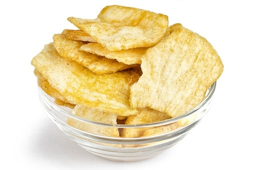 Onion Chips with Chili