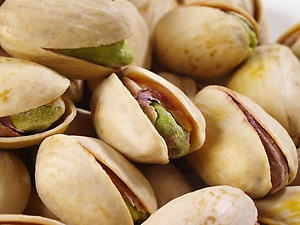 Roasted Organic Pistachios (Unsalted, In Shell)