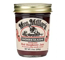 Seedless Red Raspberry Jam (No Sugar Added)