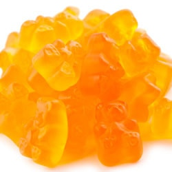 Peach Gummy Bears