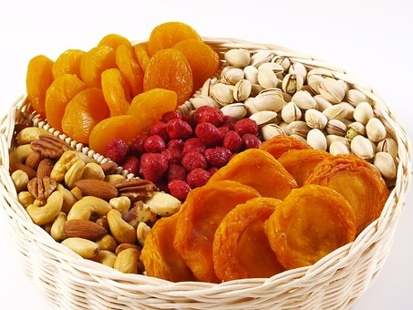 Mixed Nut & Fruit Tray (3.5 lbs.)