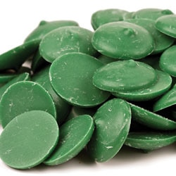 Green Coating Chocolate Wafers