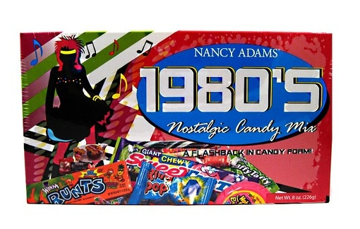 1980's Retro Candy Box
