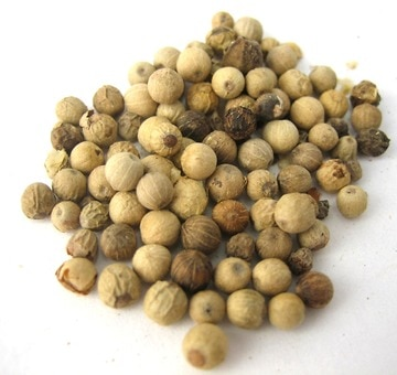 Whole White Pepper