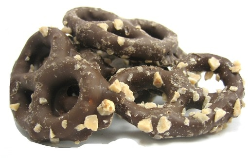 Chocolate Toffee Covered Pretzels - Chocolates & Sweets - Nuts.com