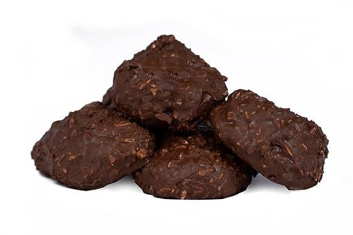 Dark Chocolate Coconut Haystacks - Cookies - Snacks - Nuts com
