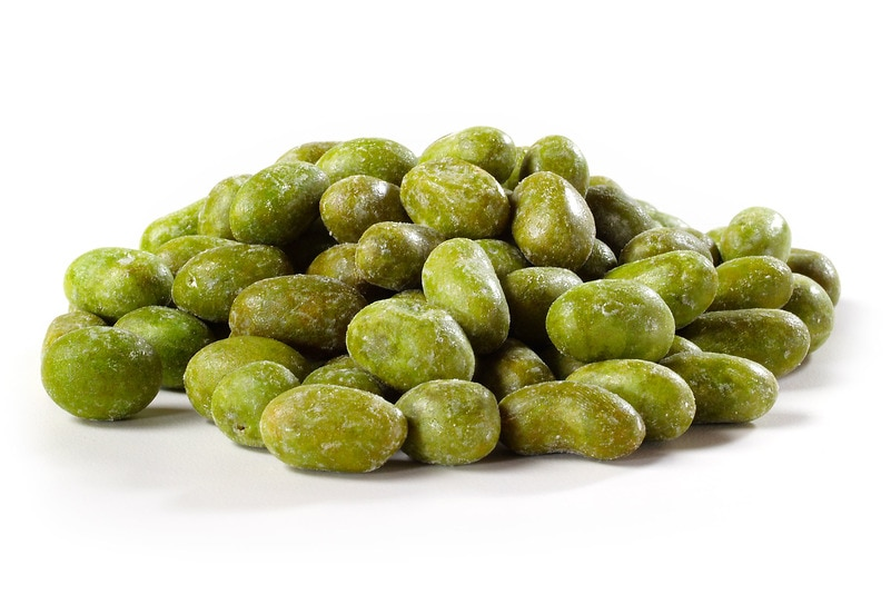 Image result for Wasabi covered nuts