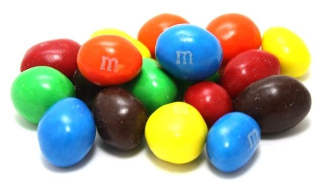 M M Candies Pictures: Dark Chocolate Peanut M&M's