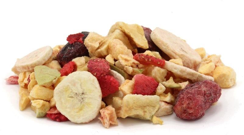 Freezed dried fruit