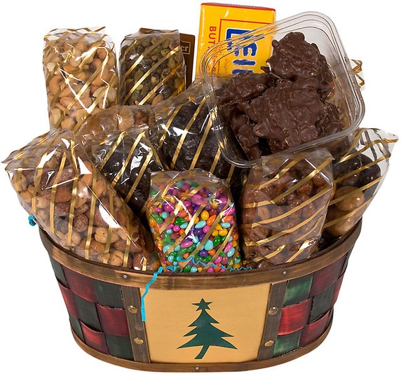 Gourmet Christmas Basket - Holiday Gifts - Nuts.com